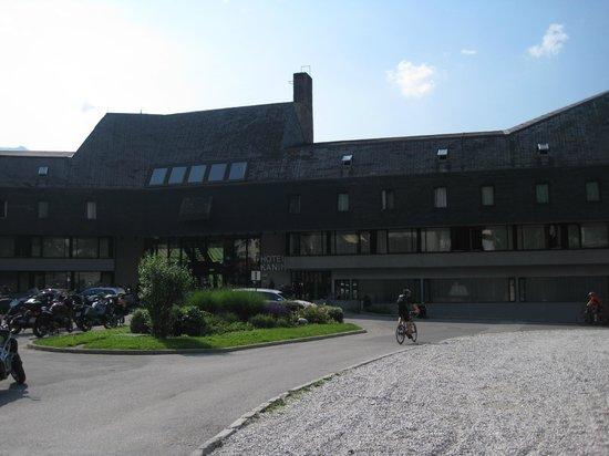 Hotel Kanin : Hotel - Eingangsbereich