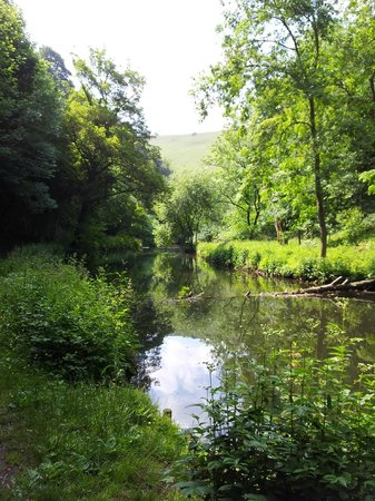 Old Hay Barn: Local river walk - needs wellies even in July