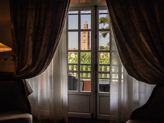 La Mamounia Marrakech: Beautiful views from the suites