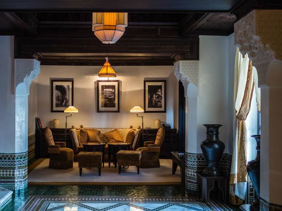 La Mamounia Marrakech: Living room