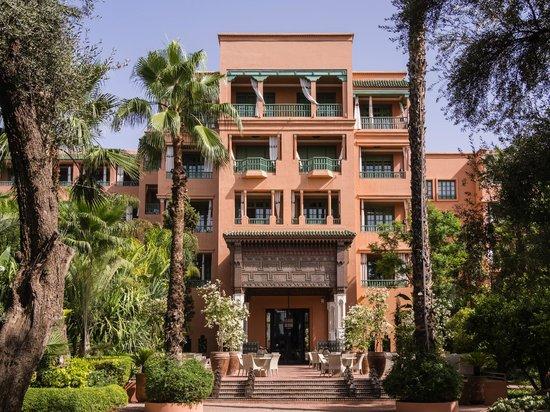 La Mamounia Marrakech: Classic facade