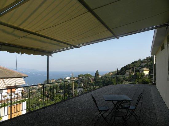 Hotel Primo Sole: the balcony itself