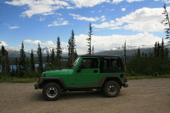 Alaska Green Jeep Tour Rentals