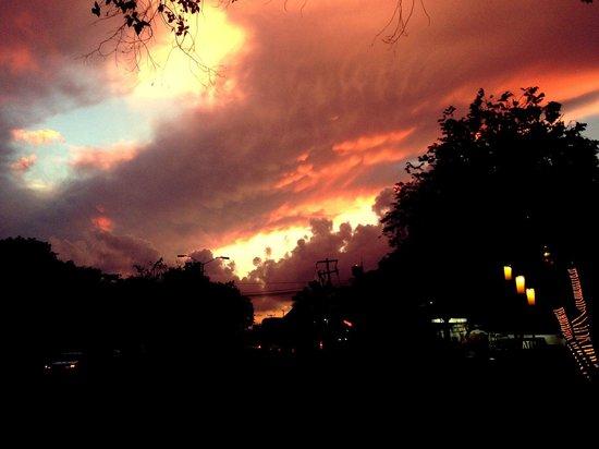 Montenegro: Beautiful sunset