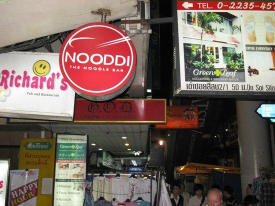 Noodi: Eingang Nooddi Restaurant
