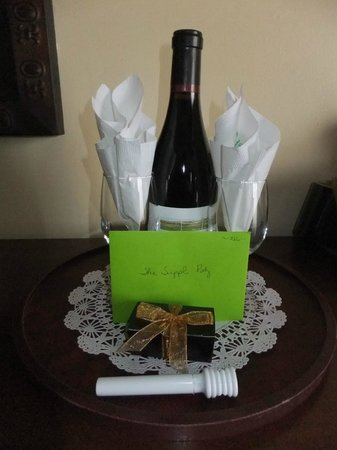 Best Western Plus Victorian Inn Our Welcome Gift Thanks Again