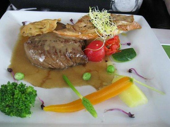 Hôtel Punta Lara : pièce de bœuf façon rossini
