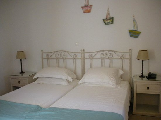 The A Hotel by Mykonos Arhontiko: notre chambre