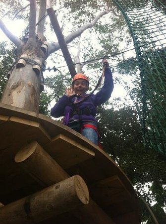 Urban Jungle Adventure Park: having lots of fun!