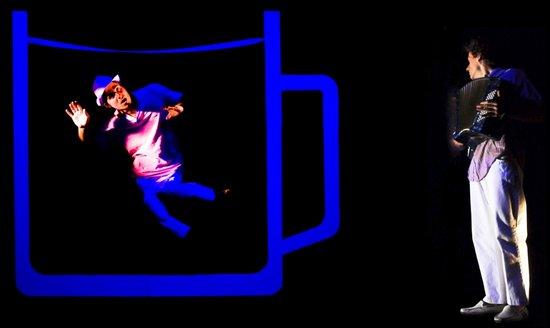 REDUTA THEATRE STAGE - Black Light Theatre: Magic Trip to Prague 2