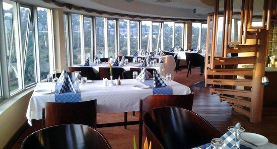 7 Hills Revolving Restaurant: The restaurant