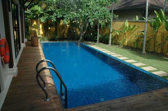 Two Villas Holiday, Oriental Style Layan Beach: private pool