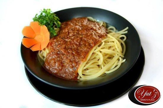 Yutz Place Restaurant: spaghetti bolognese