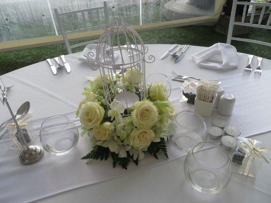 Katathani Phuket Beach Resort: Seacret Wedding Reception