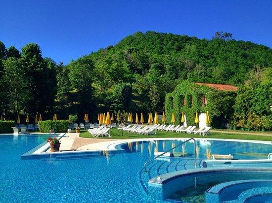 Montegrotto Terme, Italia: Piscina esterna