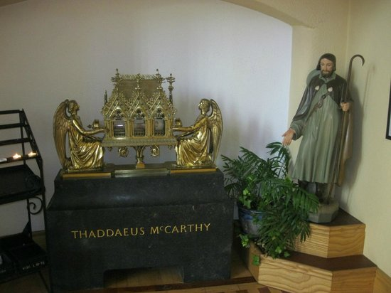 The Cathedral of St Mary & St Anne : A reliquary of Blessed Thaddeus McCarthy