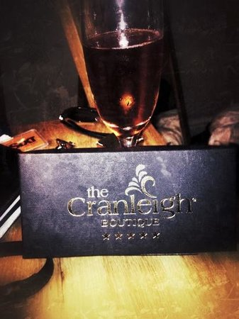 Cranleigh Boutique: champagne and chocolates
