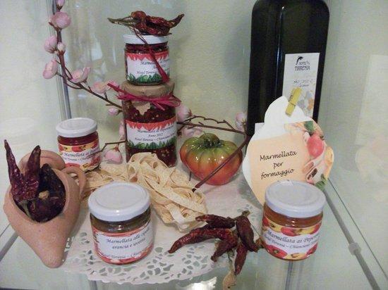 Hotel Tirrenia: marmelate di nostra produzione