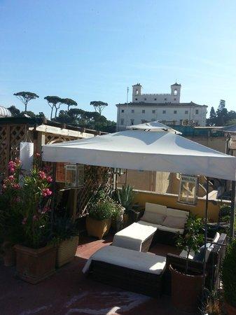 Domus Valeria : The wonderfull roof terrace