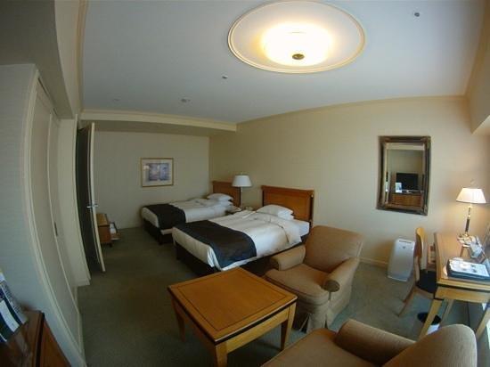 RIHGA Royal Hotel Osaka : 16. floor, Deluxe-room