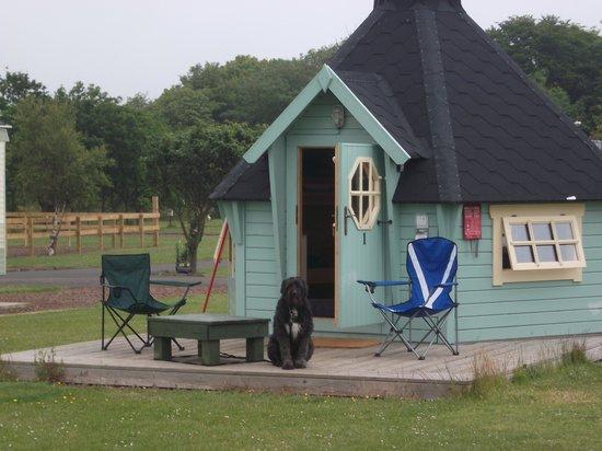 Gilsland Park: The cabin