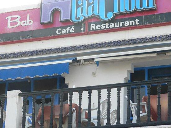 bab laachour: terrasse du restaurant..
