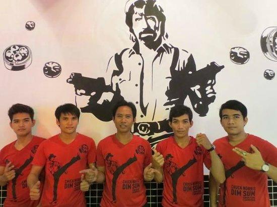 Chuck Norris Dim Sum: Da' Team