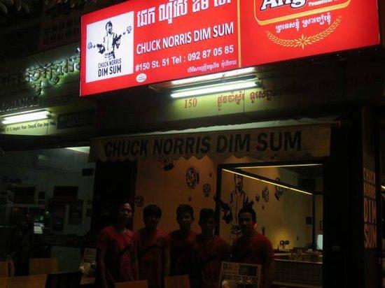 Chuck Norris Dim Sum: Sign
