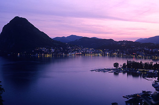 Лугано, Швейцария: Lugano by Night
