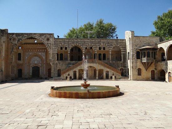 Beiteddine, Libano: la cour intérieure