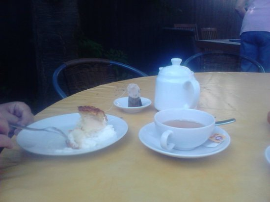 Hotel Sievers: Apple-pie with tea