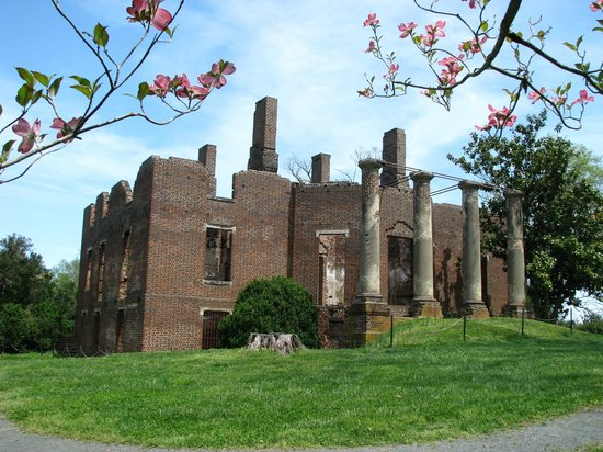 Barboursville Vineyards and Historic Ruins : Barbour Mansion Ruins