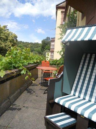 Hotel Franziskushöhe: Außenbereich