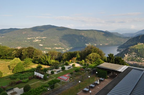 Hotel Serpiano: view from the room