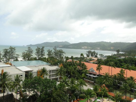 Patong Tower Holiday Rentals: view on right