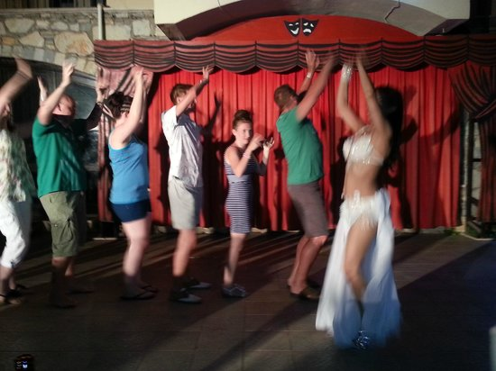 Club Turquoise: club dances x