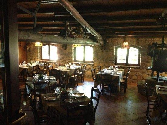 Al Poggetto: salle à manger
