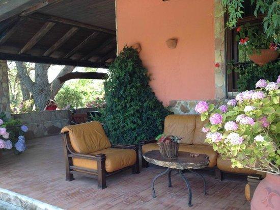 Al Poggetto : terrasse