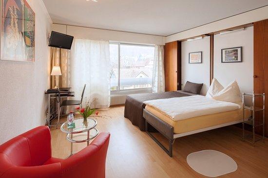 Hotel Metropol Biel : Single room comfort