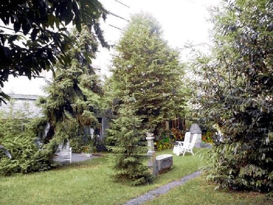 Hotel Metropol Biel : Garden view