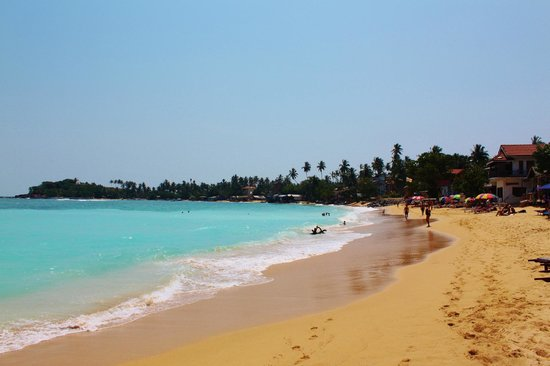 Pink Elephant Hotel and Restaurant: Unawatuna Beach - 20m from property