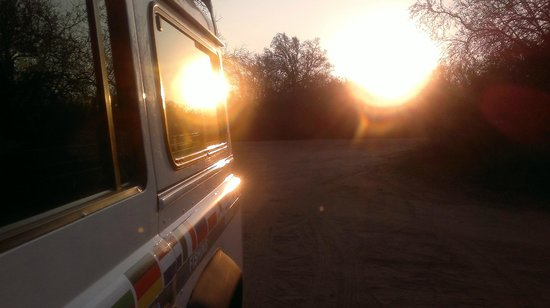Heritage Tours & Safaris: Driving in the sunset, my favourite part