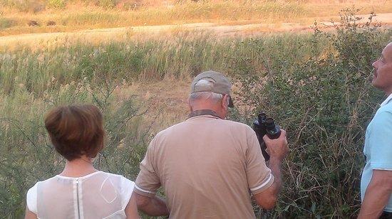 Heritage Tours & Safaris: Mkhulu (Mr Sotiris) Leading us