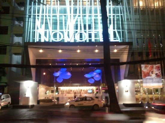 Novotel Saigon Centre Hotel: View From Across the Road