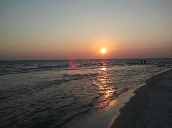Grand Panama Beach Resort: Beautiful sunset.
