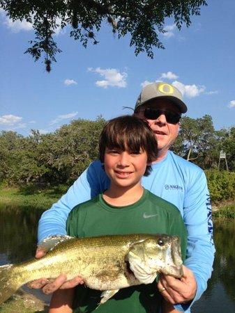 The Lodge on San Julian Creek: great fishing!