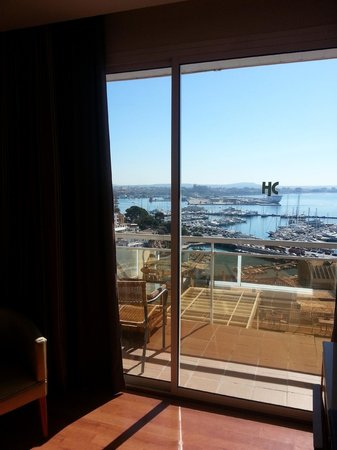Catalonia Majorica Hotel: vistas des de nuestra habitación