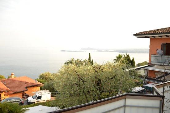 Hotel Belvedere: sulla destra si può notare la terrazza del ristorante nonchè il magnifico panorama