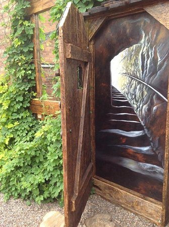 The Ship Inn Secret door artwork & Secret door artwork - Picture of The Ship Inn Retford - TripAdvisor