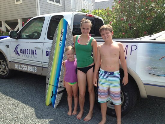 Carolina School of Surf: Great Surfing Experience - OIB '13